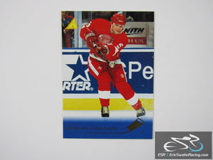 Nicklas Lidstrom 180 Detroit Red Wings NHL Hockey Card Pinnacle 1995