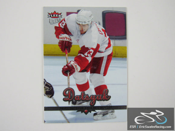 Pavel Datsyuk 76 Detroit Red Wings NHL Hockey Card Fleer Ultra 2006