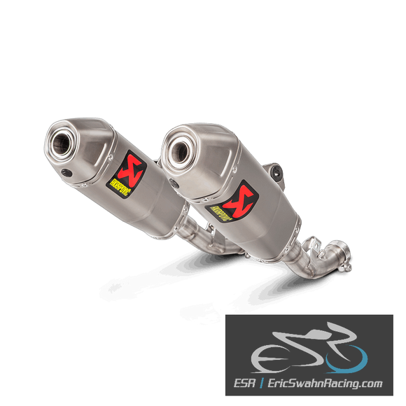 Akrapovic Slip-On Exhaust Honda CRF450R 2017-2019
