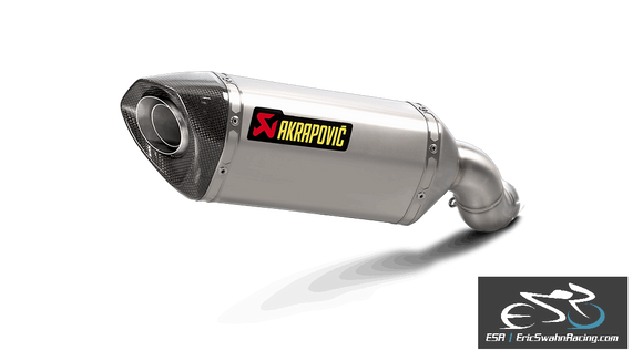 Akrapovic Homologated Slip-On Exhaust Kawasaki Z900 2017-2019