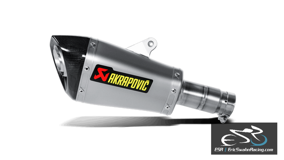 Akrapovic Slip-On Exhaust Yamaha R6 2010-2019