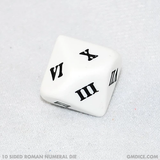 10 Sided Roman Numeral Dice 1-10