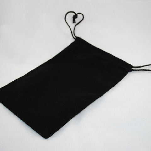"High Quality Cloth Dice Bag 6"" X 9"" (Black)"