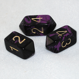 purple dnd dice