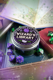 Wizard's Library Gaming Candle