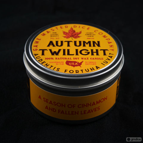 Autumn Twilight Gaming Candle
