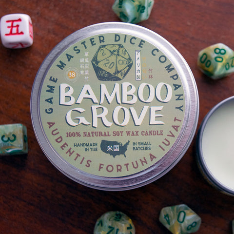 Bamboo Grove Gaming Candle