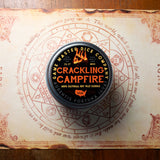 Crackling Campfire Gaming Candle