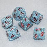 Speckled Air 10 Sided Dice