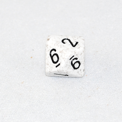 Speckled Arctic 10 Sided Dice