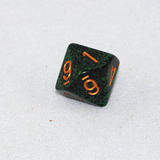 Speckled Golden Recon 10 Sided Dice