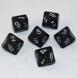 Speckled Ninja 10 Sided Dice