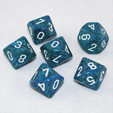 Speckled Sea 10 Sided Dice