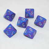 Speckled Silver Tetra 10 Sided Dice