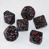 Speckled Space 10 Sided Dice