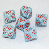 Speckled Air D100, 10 Sided Dice