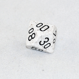 Speckled Arctic D100, 10 Sided Dice