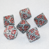 Speckled Granite D100, 10 Sided Dice