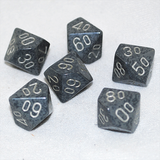 Speckled Hi Tech D100, 10 Sided Dice