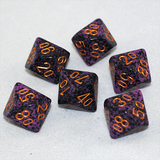 Speckled Hurricane D100, 10 Sided Dice