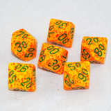 Speckled Lotus D100, 10 Sided Dice