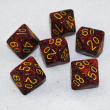 Speckled Mercury D100, 10 Sided Dice