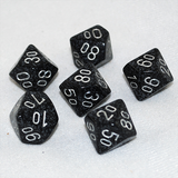 Speckled Ninja D100, 10 Sided Dice