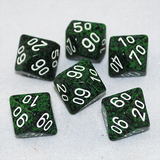 Speckled Recon D100, 10 Sided Dice