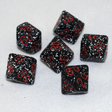Speckled Space D100, 10 Sided Dice