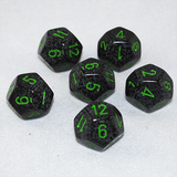 Speckled Earth 12 Sided Dice