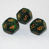 Speckled Golden Recon 12 Sided Dice