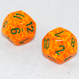 Speckled Lotus 12 Sided Dice