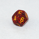 Speckled Mercury 12 Sided Dice