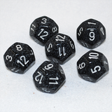 Speckled Ninja 12 Sided Dice