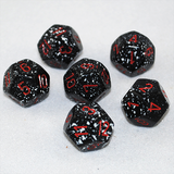 Speckled Space 12 Sided Dice