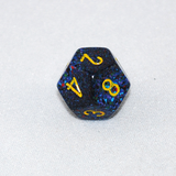 Speckled Twilight 12 Sided Dice