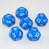 Speckled Water 12 Sided Dice