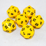 Opaque 20 Sided Dice