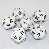 Speckled Arctic 20 Sided Dice