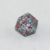 Speckled Granite 20 Sided Dice