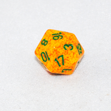 Speckled Lotus 20 Sided Dice