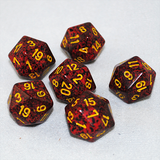Speckled Mercury 20 Sided Dice
