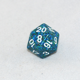 Speckled Sea 20 Sided Dice