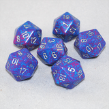 Speckled Silver Tetra 20 Sided Dice
