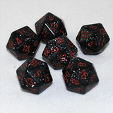 Speckled Space 20 Sided Dice