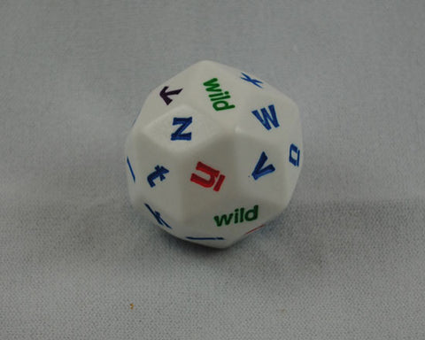 30-Sided Alphabet Letter Dice, D30