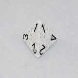 Speckled Arctic 4 Sided Dice
