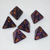 Speckled Hurricane 4 Sided Dice