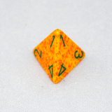 Speckled Lotus 4 Sided Dice