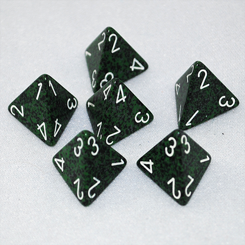 Speckled Recon 4 Sided Dice